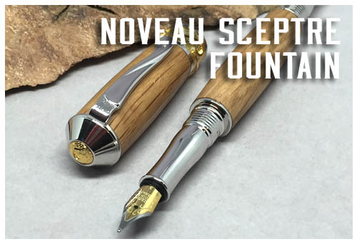 Noveau Sceptre Fount and Rollerball